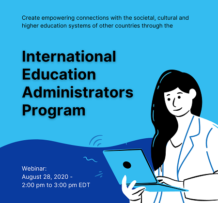 Webinar: International Education Administrators Program